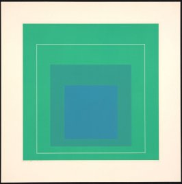 White Line Square III, from White Line Squares (Series I)