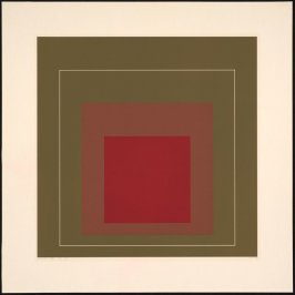 White Line Square IV, from White Line Squares (Series I)