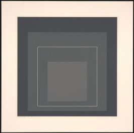 White Line Square V, from White Line Squares (Series I)