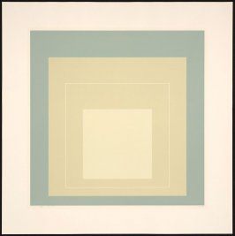 White Line Square VII, from White Line Squares (Series I)