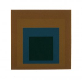 Reserved, from the portfolio Homage to the Square: Ten Works by Josef Albers