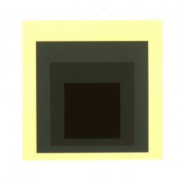 Shielded, from the portfolio Homage to the Square: Ten Works by Josef Albers