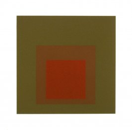 Equivocal, from the portfolio Homage to the Square: Ten Works by Josef Albers