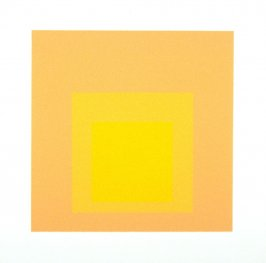 Tenuous, from the portfolio Homage to the Square: Ten Works by Josef Albers