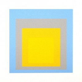 Wide Light, from the portfolio Homage to the Square: Ten Works by Josef Albers