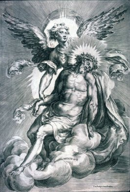 Angel Supporting the Body of Christ