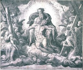 God the Father with the Body of Christ