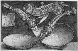 Two richly decorated Spoons