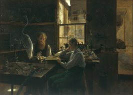 The First Lesson (The Taxidermist)