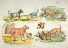 Dogs, scraps from the sketchbook of Henry alken, Engraved by himself