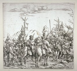 The Baggage Train from: The Triumph of Maximilian I