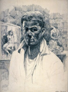 Recto: Self-Portrait Verso: Study after the Antique