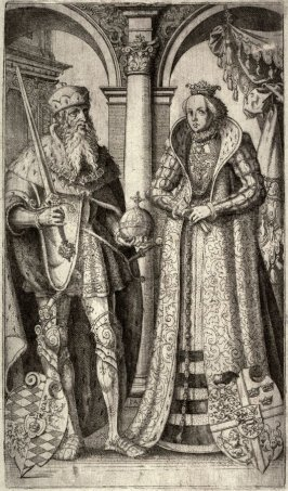 Portrait of a King and Queen, Copy