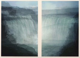 Niagara, diptych from the series Average Landscapes