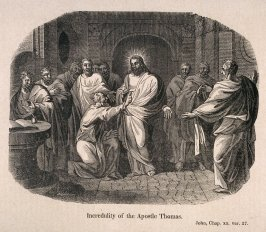Biblical Scenes: Incredulity of the Apostle Thomas