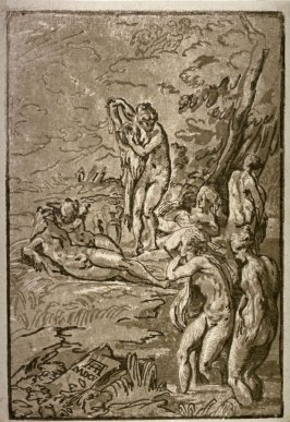 Bathing Nymphs, after Parmigianino