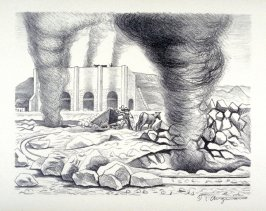 "Lime Kilns from ""Mexican People"" portfolio"