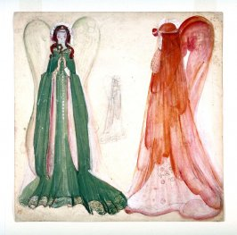 Mephistopheles or Blue Bird: Two Angel Costumes