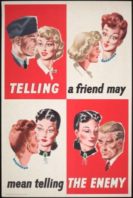 Telling a Friend May Mean Telling the Enemy (Navy)