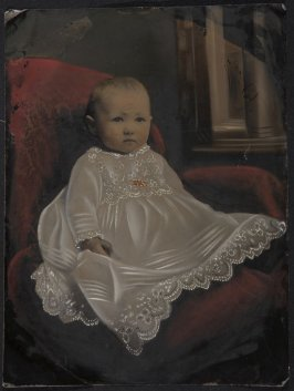 Untitled (Child in christening dress)