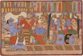 A Scene with Warriors