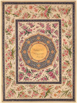 Frontispiece, a page from the Lady Coote Album