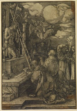 Copy after Dürer's Mass of St. Gregory