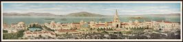 Panoramic View of the Panama-Pacific Exposition - San Francisco, California, 1915