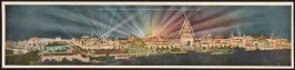 Night Illumination - Panama-Pacific International Exposition - San Francisco, California, 1915