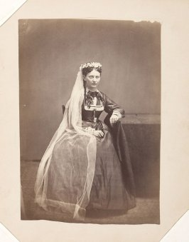 Untitled (Young woman in ceremonial dress)