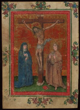 Crucifixion with Mary and John