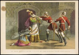 "The Daring Seizure of the King of Delhi by Capt. Henry M. Hodson of ""Hodson's Horse"""