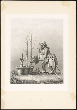 Untitled (Monkey Watering Trees)