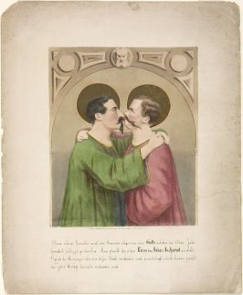 The Kiss of Judas Iscariot (Napoleon III and Victor Emmanuel)