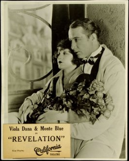 "Viola Dana and Monte Blue in ""Revelation"" (film still)"