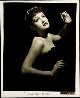 """Dorothy Lamour in """"Dance With the Devil"""" (film still)"""