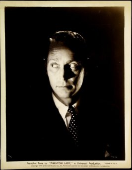 "Franchot Tone in ""Phantom Lady"" (film still)"