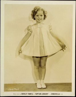 "Shirley Temple in ""Captain January"" - a Cinderella Frock (film still)"