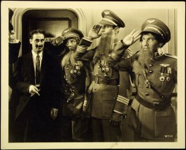 """The Marx Brothers in """"A Night at the Opera"""" (film still)"""