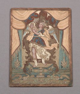Devotional picture of St. Michael and the Child
