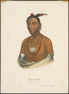 Wa-Kawn, A Winnebago Chief, no. 83