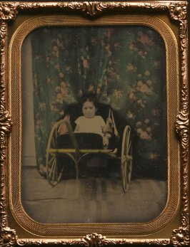 Untitled (Child in a cart)
