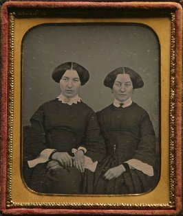 Untitled (Two sisters with arms linked)