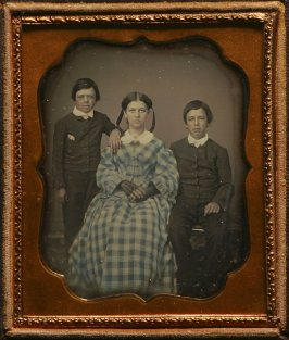 Untitled (Sister with two brothers)