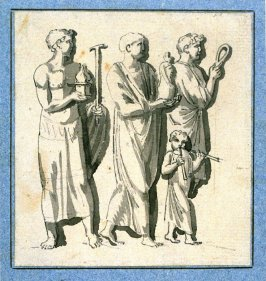 Procession, possibly after a classical Bas Relief