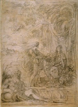 Allegorical Composition (French victory of a city state or tropical colony)