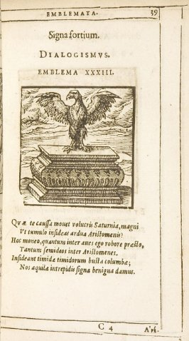 Bonis à divitibus nihil timendum (The good have nothing to fear from the rich), emblem 32 in the book Emblemata by Andrea Alciato (Antwerp: Plantin [under the direction] of Raphelengius, 1608)
