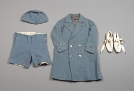 Boy's Daytime Ensemble (Coat, Shorts, Cap, Shoes)