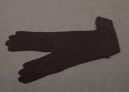 Elbow-length gloves