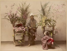 Street Vendor of Flowers